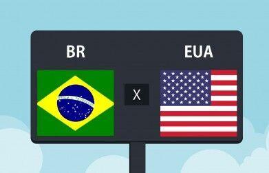 EUA ou Brasil onde hospedar?