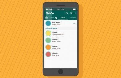 Como usar o status do WhatsApp para atrair vendas?