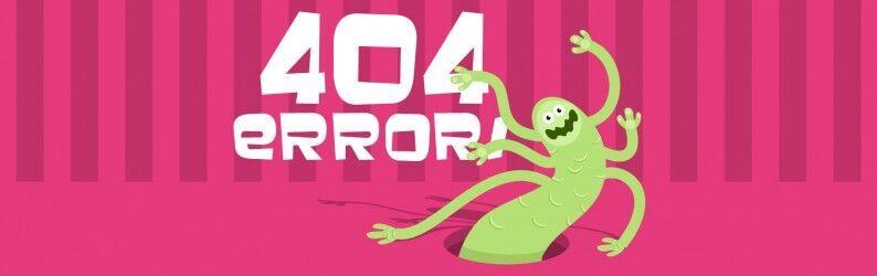Conheça as páginas de erro 404 mais criativas!