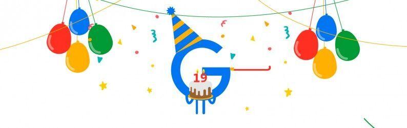 19 curiosidades sobre os 19 anos do Google