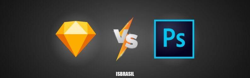 Sketch x Photoshop: escolher um ou trabalhar com os dois?