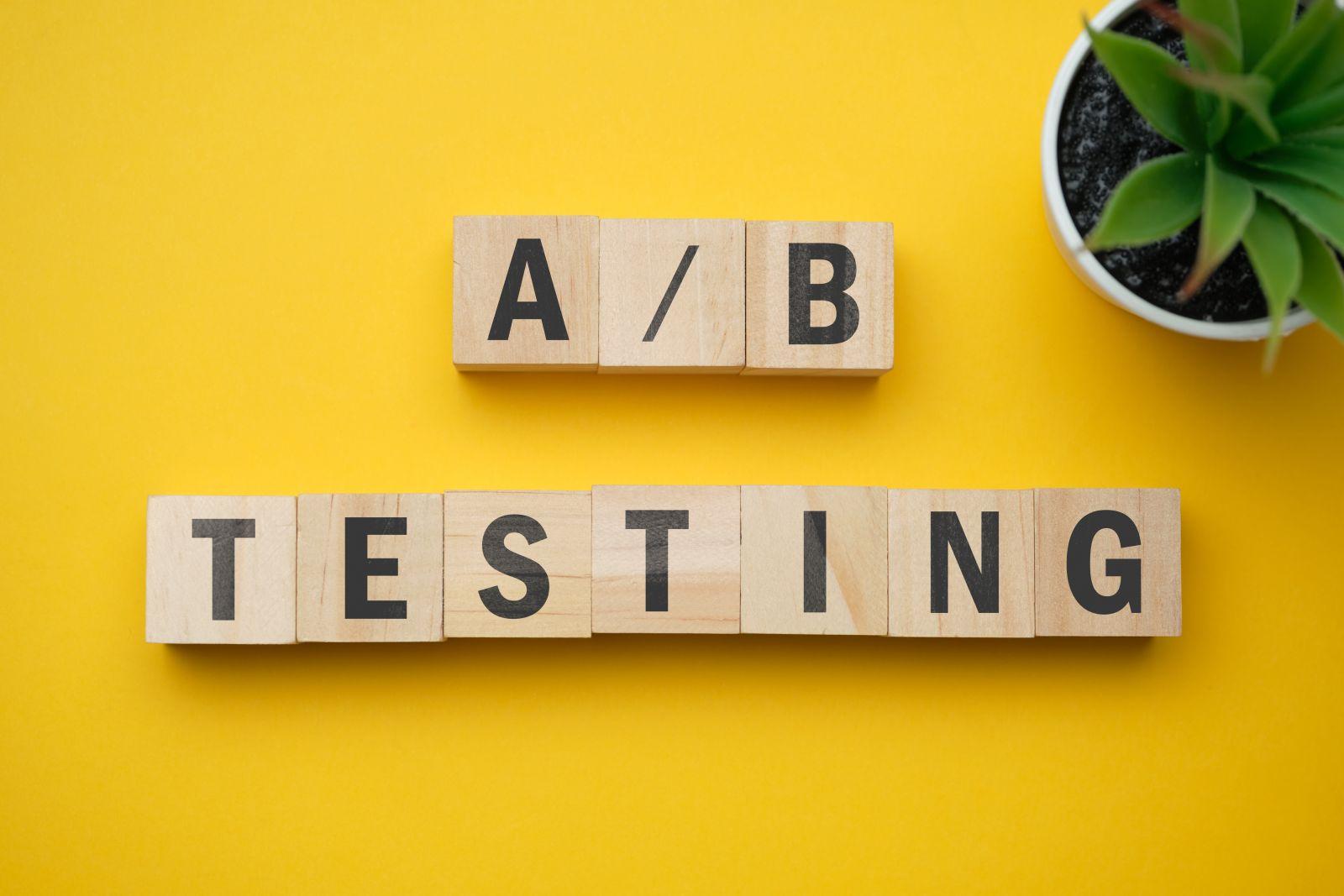 a b teste