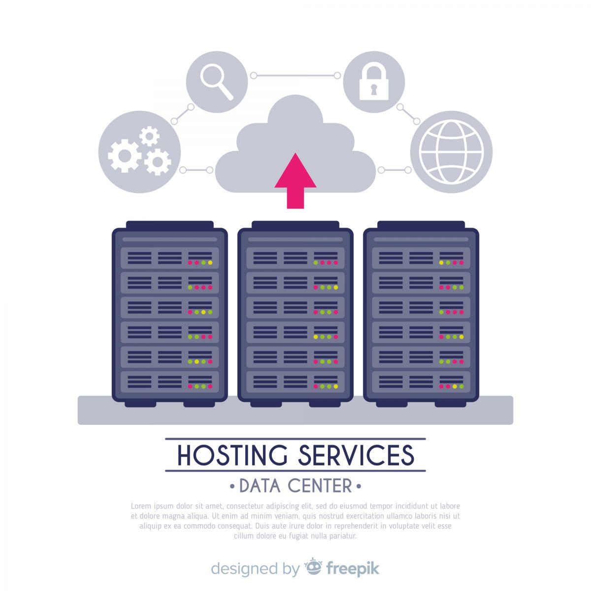 ilustração servidor