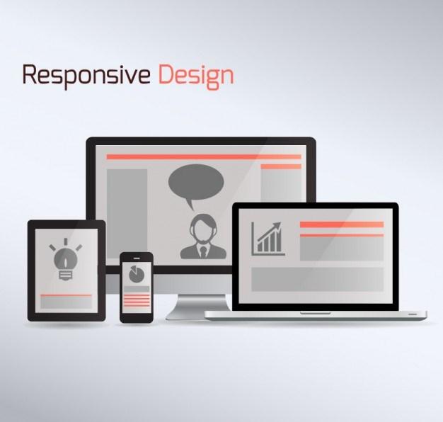 arte de design responsivo