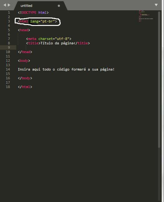 html em tag