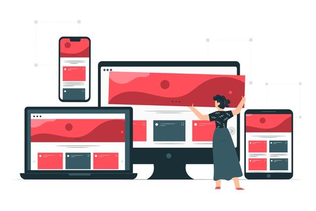 layout responsivo para mobile