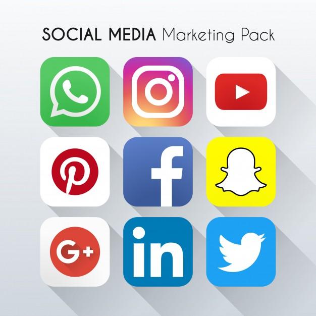 pack de marketing nas redes sociais